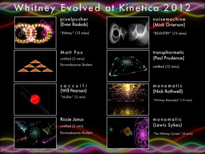 Whitney Evolved at at Kinetica 2012