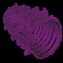 sound spiral 3D model