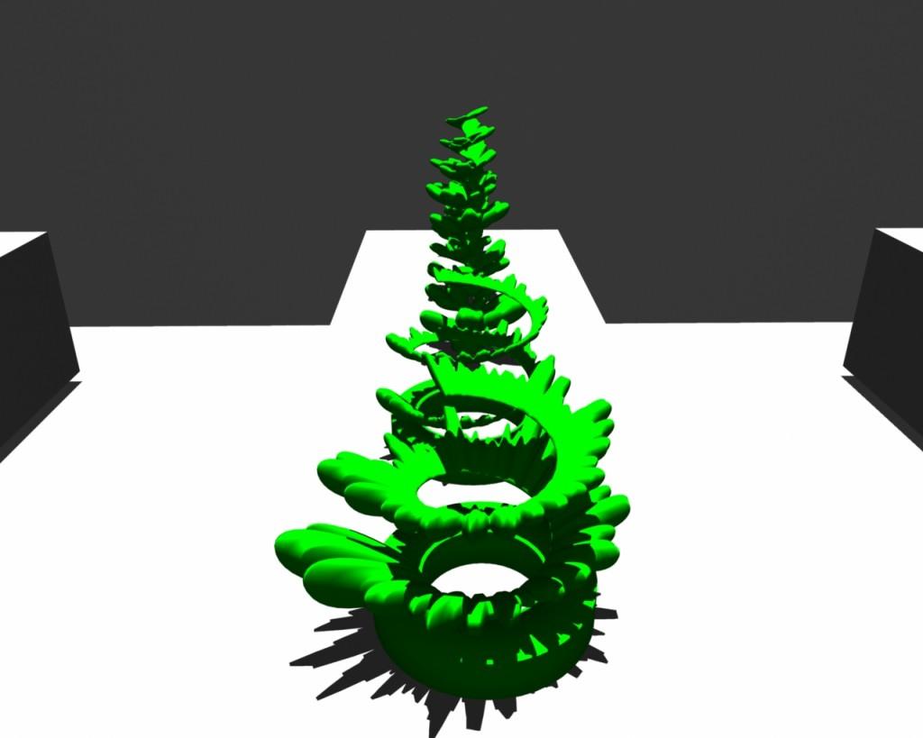 Spirals gallery render 2
